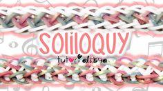 NEW Reversible Soliloquy Rainbow Loom Bracelet Tutorial | How To
