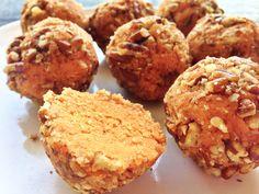 Vegan #Gluten-Free Sweet Potato Pie Doughnut Holes