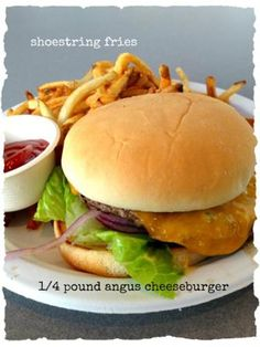 Cheeseburger from Crocker Cafe