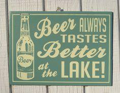 Lake days.