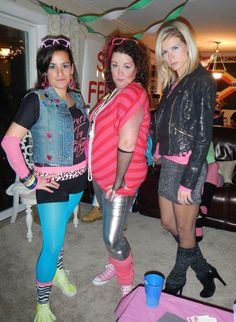 80's outfits for an 80s party More