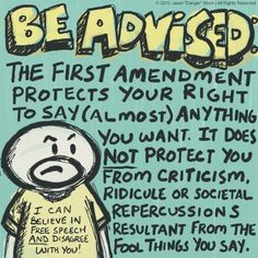Be advised...