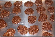 Weight Watcher no-bake cookies = 1 point! Sounds like they might be worth a try.....  Chocolate, oats, and peanut butter.