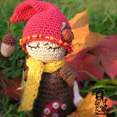 forests, magic, hooks, autumn, crochet, toys, ravelry, elves, amigurumi