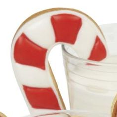 DIY Striped Candy Cane Cookies