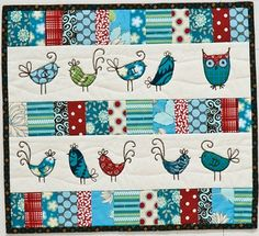 Anita Peluso's Little Birds Quilt project