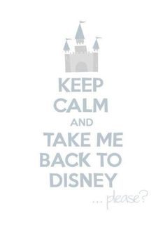 Keep Calm Disney