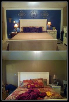 Bedroom makeover in a day
