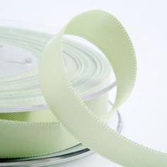 Satin Wedding Favour Ribbon - Mint Green