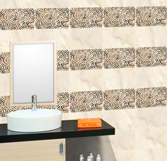 ODH Paseo Radiant HL - Orient Bell #Bathroom Tile Collection