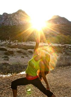Get out in the sun every morning and exercise...