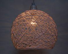 Glue string light