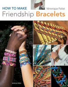 How to Make Friendship Bracelets   Had a book just like this when I was younger! It made for hours of fun on car trips and at Girl Scouts!