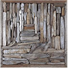 John Dahlsen, enviro artist and contemporary painter - driftwood collection and assemblage art
