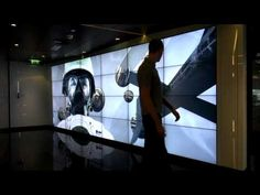 ▶ World's largest Kinect driven interactive video wall - YouTube