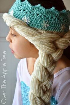 Crochet Elsa Crown W