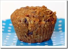 Flax Carrot Apple Muffins