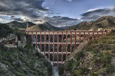 """Puente del """"Acueducto del Águila"""" - Nerja"""