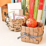 Perfect baskets made out of paper bags!