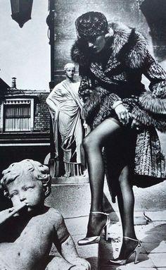 Helmut Newton, #Paris, 1976.