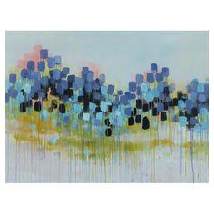 Blue Block Canvas