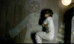 Iraqi boy in an orphanage drew his mother and slept in her arms. :(