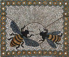 leafmag:    Pebble mosaic via Maggy Howarth