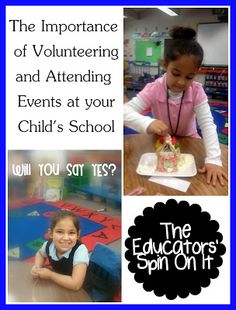 The Importance of Volunteering & Attending Events at Your Child's School {Teachers how would you like to see parents involved in your class? }