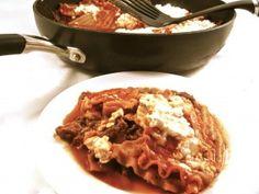 lasagna in a skillet photo 1