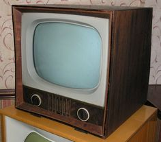 Vintage Pilot TV - 1958