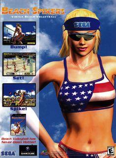 """""""Beach Spikers"""" GamePro, October 2002 (#169)"""