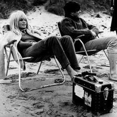 beaches, icon, brigitt bardot, bridget bardot, at the beach