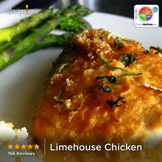 Limehouse Chicken from Allrecipes.com #myplate #protein