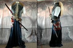 Steampunk Samurai outfit by Tyson Vick - more pics at the link