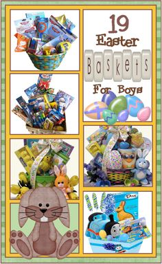 Easter Basket Ideas for Boys of All Ages!