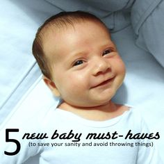 Five New Baby Must-Haves