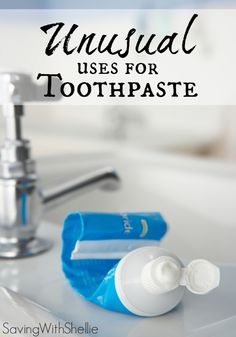 This list has some of my favorite unusual uses for toothpaste like cleaning fingernails, foggy headlights and more! For something so inexpensive, it sure does a lot of great things.