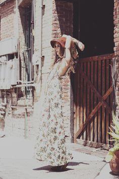 Day Tripper   Anna Iaryn   Zoey Grossman #photography   For Love and Lemons Spring 2012 Lookbook   #bohemian #boho #hippie #gypsy