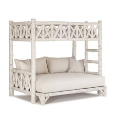 Rustic bunk - white