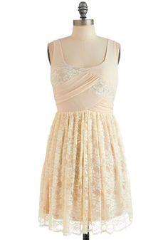 Lace Yourself Dress, #ModCloth