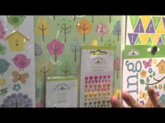 Hello Spring Glittered Easter Collection from Doodlebug Design