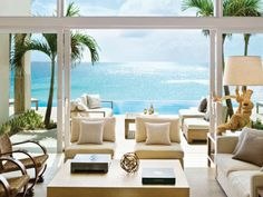 Viceroy Hotel in Anguilla puts my visit to Antiqua to a shame. Maybe one day John and I can relieve the honeymoons of the celebrities that have vacationed there?