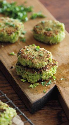 Crispy Edamame Fritters | Recipe