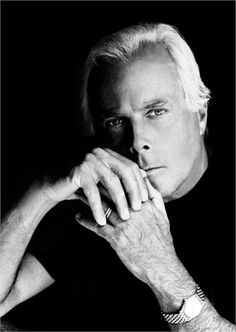 Giorgio Armani; Italian designer. // Noted for clean, tailored lines. He formed Armani in 1975. Interestingly, Armani is the first ever designer to ban models who have a Body Mass Index under 18.