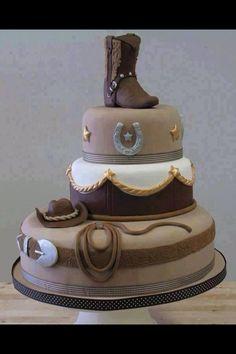 Cowboy cake - awesome