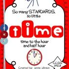 I just finished my TIME unit!!  Fun activities to help the kids read and write time to the hour and half hour! $