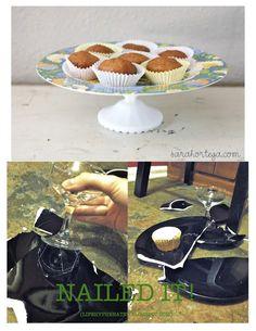 Pinterest Fail - Cupcake Stand