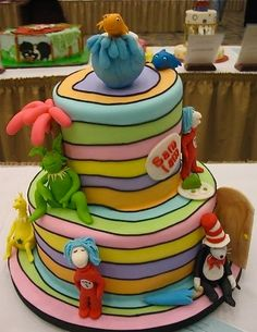 Oh, The Places You'll Go Cake Wrecks - Home - Seussical Sunday Sweets