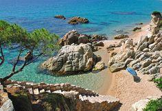 Tossa de Mar, Gerona, España.