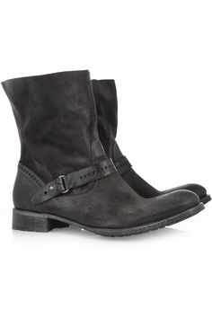 Leather ankle boots by N.D.C.